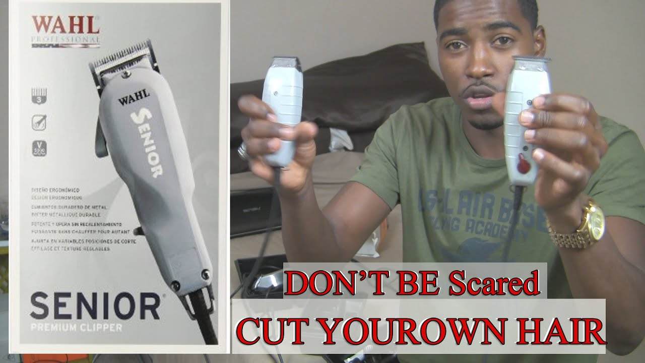 how to cut your own hair men video