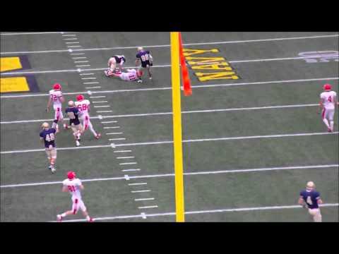 Navy Sprint Football vs Cornell Highlights 2013
