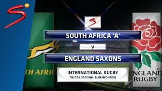 Gambar cover South Africa 'A' vs England Saxons, 1st Match Highlights