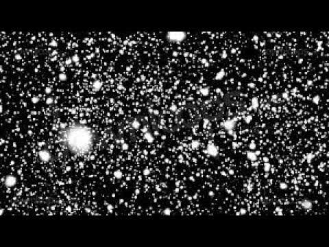 [10 Hours] REMAKE Snow Falling Full Screen BLACK B/G - Video & Audio [1080HD] SlowTV