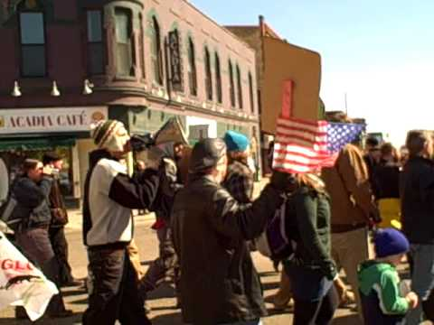 Minneapolis Anti-War Protest 7th year Iraq