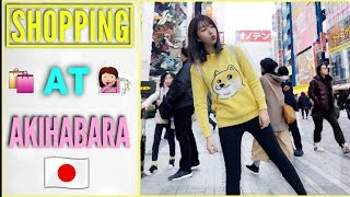 VLOGMAS DAY 24: SHOPPING FOR WEIRD THINGS IN AKIHABARA!