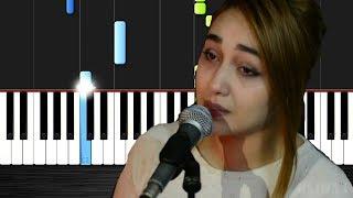 Mawjou3 galbi by najwa farouk - Piano by VN