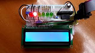 Driving an HD44780 LCD display without a library