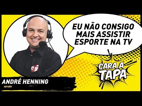 """André Henning elege Luis Roberto como """"o melhor narrador do Brasil"""""""