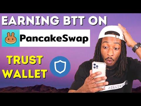 Staking BTT On PancakeSwap (Using Your Phone & Computer)