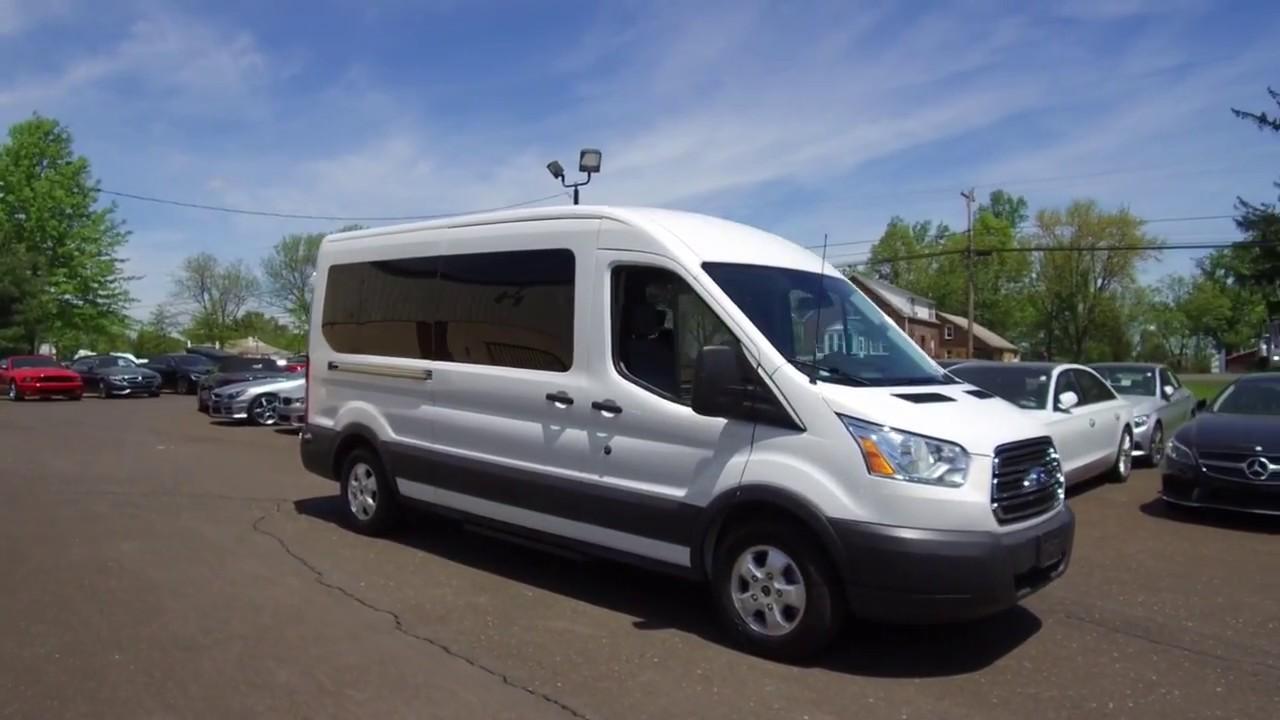 15 Passenger Vans For Sale >> 2017 Ford Transit 350 Xlt 15 Passenger Van For Sale