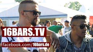"Interview: Kollegah, Farid Bang & Majoe auf dem ""Out4Fame-Festival"" (16BARS.TV)"