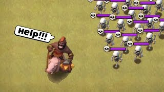 Clash of Clans Funny Moments Montage | COC Glitches, Fails, Wins, and Troll Compilation #4 |