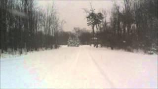 nor easter snowblowing cub cadet gt2000