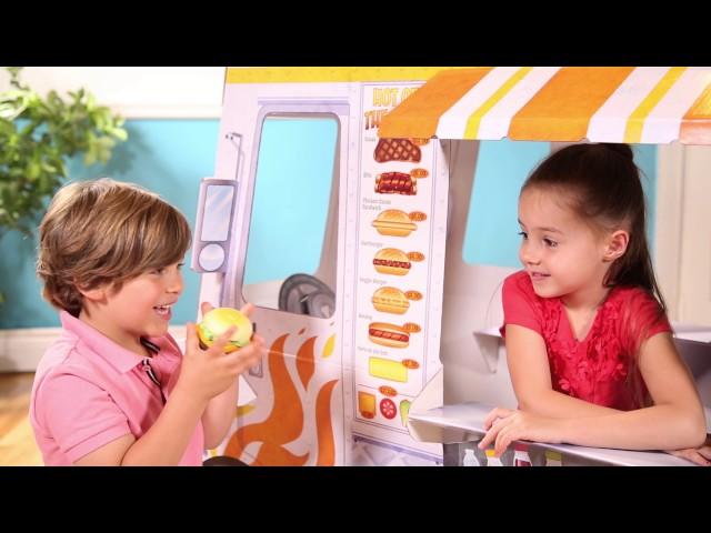 Melissa And Doug Food Truck