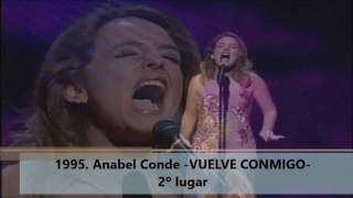Spain in Eurovision (1961 - 2016)