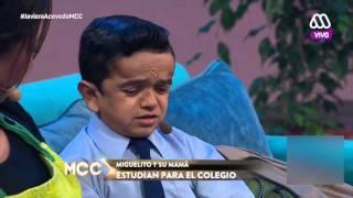 Miguelito recibe la visita de su profesora - Morandé con Compañía 2016