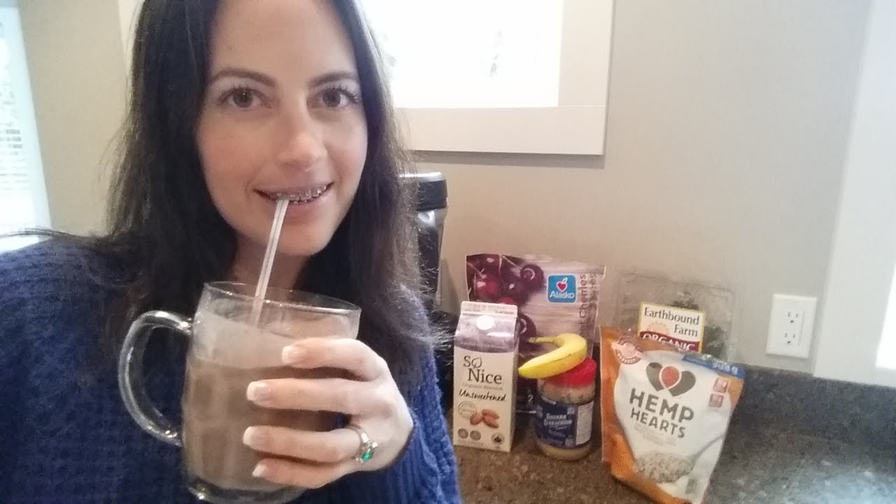 Jaw Surgery Food Tips: PB and J Smoothie - YouTube
