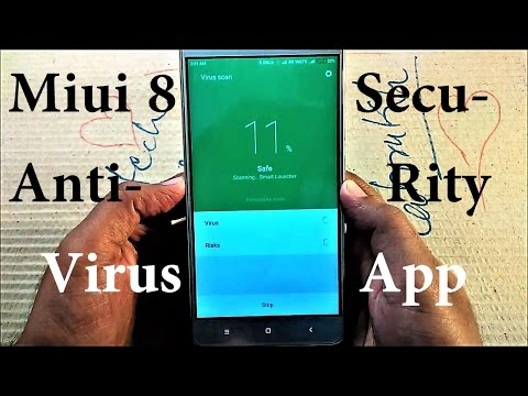 MIUI 8 ANTI-VIRUS SECURITY [ HINDI ]