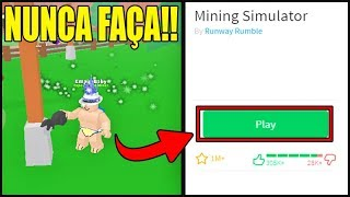 NEVER MAKE THIS BUG IN MINING SIMULATOR!! OR YOU'LL BE SORRY!!! ROBLOX
