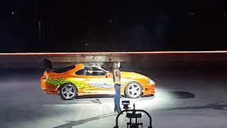 Fast And Furious Live 2018!Brian Supra Drifting!