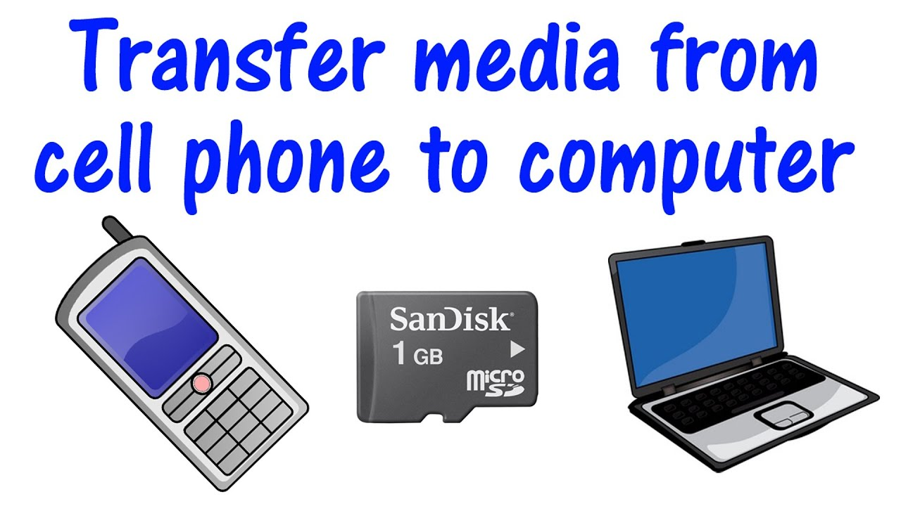 how to transfer pictures from computer to phone