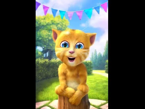 Funny Talking Ginger Cat Sings Are You Sleeping Brother John Nursery Rhymes