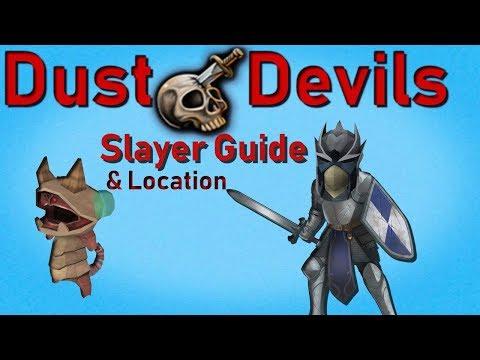 Runescape 3 Dust Devils Guide & Location