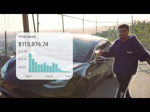 What it's like Making $100K a Week With Dropshipping at 18 thumbnail