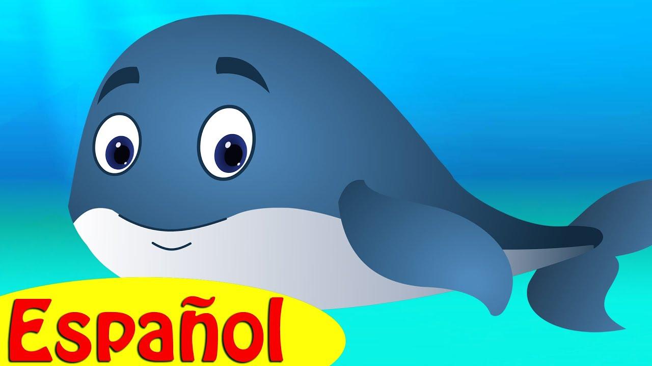 La Ballena Azul Canción Infantil | ChuChuTV Mundo Marino | Canciones de Animales para Niños