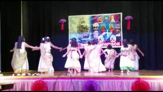Leona tomson's group dance