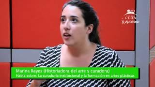 Centro León. Entrevista Marina Reyes