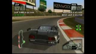 Test Drive Le Mans Gameplay Sega Dreamcast