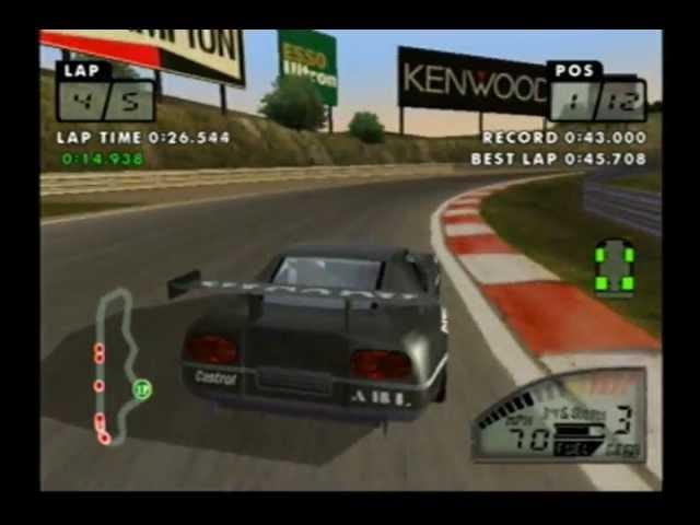 Test Drive Le Mans Gameplay Sega Dreamcast