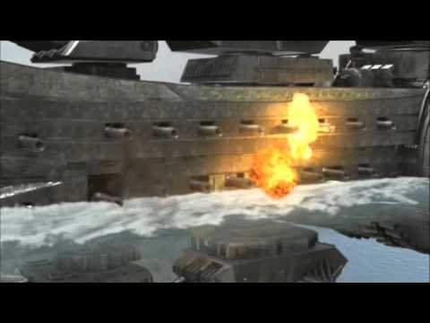 Time Traveling Train vs. Warship
