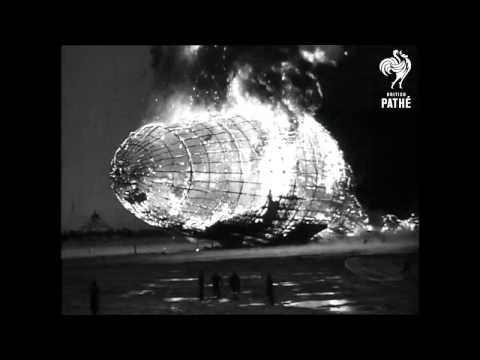 Hindenburg Disaster - Real Footage (1937) | British Pathé