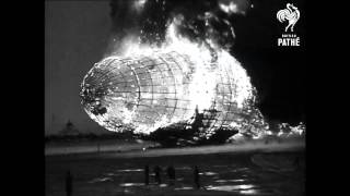 Hindenburg Disaster - Real Footage (1937) | British Pathé