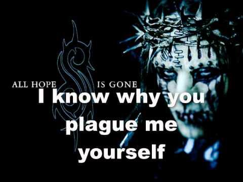 Slipknot-My Plague (Lyrics)
