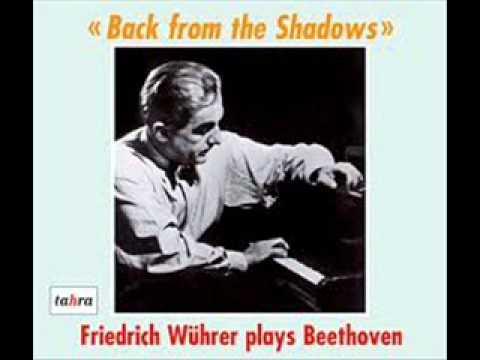 Friedrich Wührer plays Schubert Sonata in B flat D 960 (3/3)