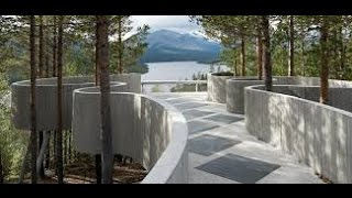 Meandering Through Old Pine Trees  Spectacular Sohlbergplassen Viewpoint in Norway