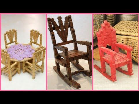 beautiful-clothespin-craft-ideas-stylish-barbie-furniture-designs