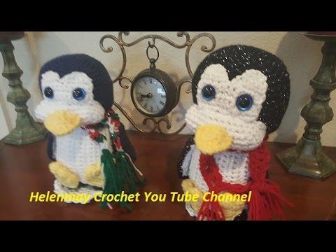 Easy Christmas Amigurumi : Crochet quick easy amigurumi christmas penguin diy tutorial youtube