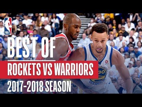 Best Plays From The Regular Season Matchup: Rockets vs Warriors