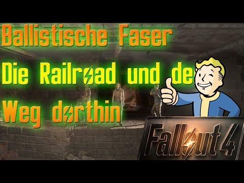 Fallout 4 Guide - Die Railroad, Ballistische Faser und wie ihr sie bekommt