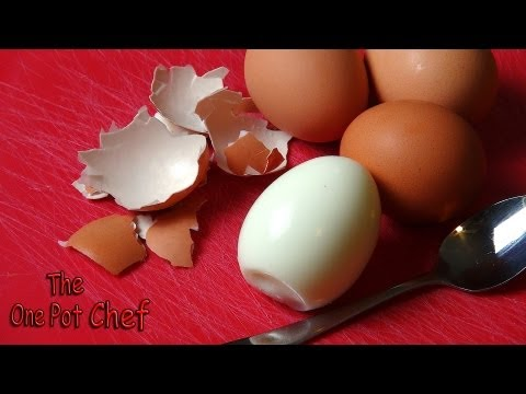 Quick Tips: Removing Eggshells from Boiled Eggs | One Pot Chef