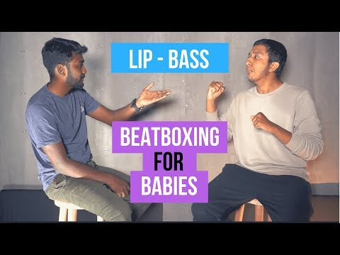 How To Beatbox - Lip Bass | Vineeth Vincent x Anirudh | Beatboxing For Babies | Beatbox Tutorial