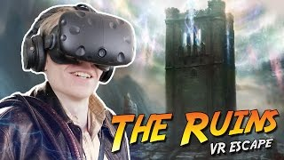 INDIANA JONES SIMULATOR IN VIRTUAL REALITY! | The Ruins VR: Escape Room (HTC Vive Gameplay)