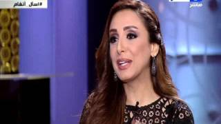 بالفيديو.. أنغام لمحمود سعد: 'حلاوة الحب أنه ما بيكملش'