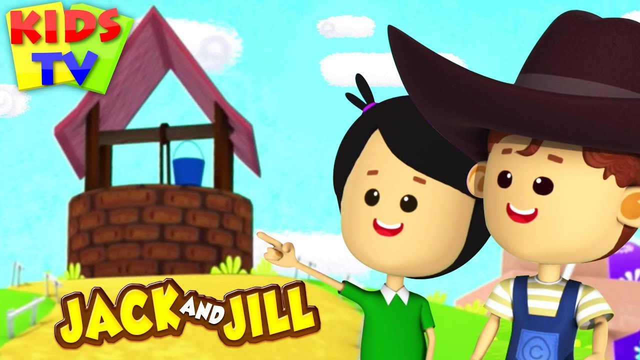 Jack and Jill | Little Eddie Cartoon | Nursery Rhyme & Songs for Children by Kids TV
