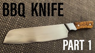 Knifemaking: BBQ knife |PART 1|