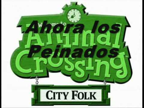 animal crossing city folk guia de inicio y peinados - youtube