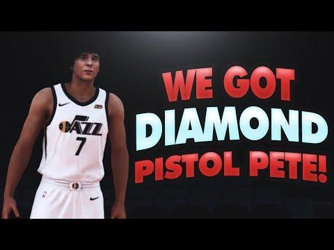 WE GOT DIAMOND PETE MARAVICH! AMETHYST GOALS REWARD!! (NBA 2K18 MYTEAM)