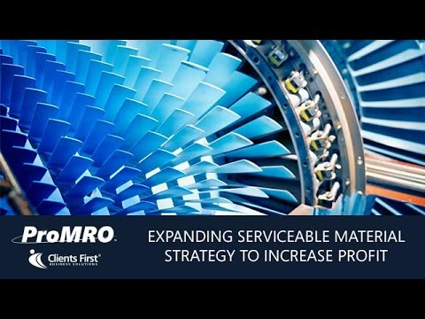 Expand Your Serviceable Material Strategy to Increase Profit