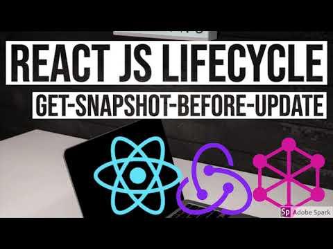 React JS LifeCycle getSnapshotBeforeUpdate UseCase #29